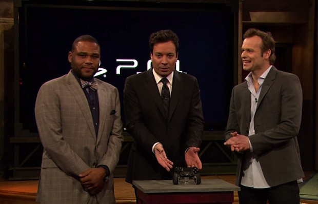 Jimmy Fallon gets first PS4 handson, plays some Killzone Shadow Fall video