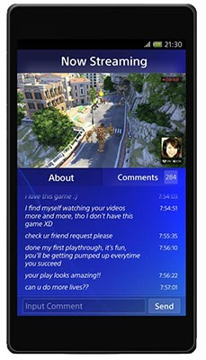 Sony flaunts portable, social aspects of PS4 with highres screenshots