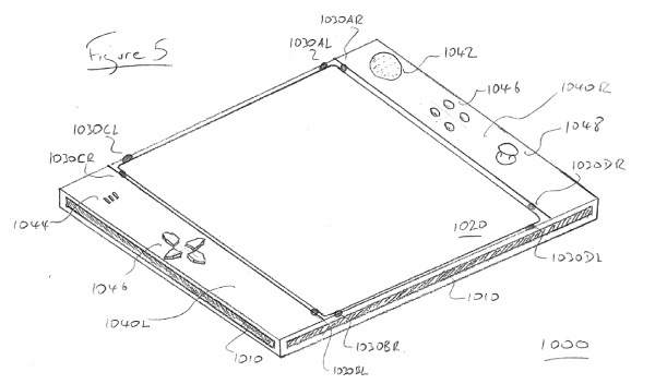 Sony patent application reveals multi-sensor control
