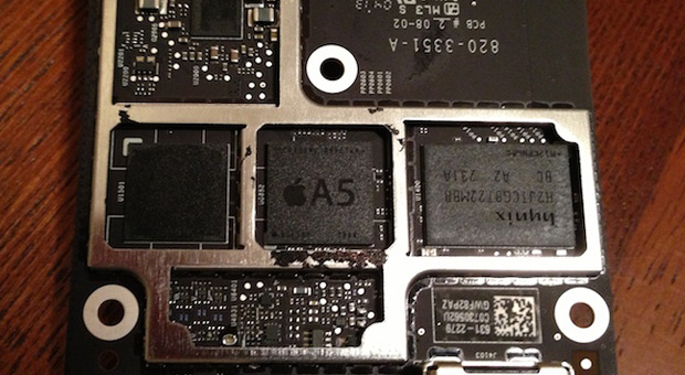 Latest Apple TV reveals much smaller A5 processor, adds to rumors of split with Samsung