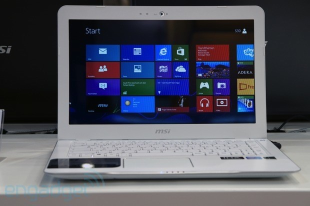 ImageMSI's mid-range S30 laptop is coming to Europe for 699 euro, we go hands-on (video)
