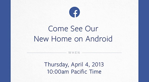 Facebook planning Android related event on April 4th
