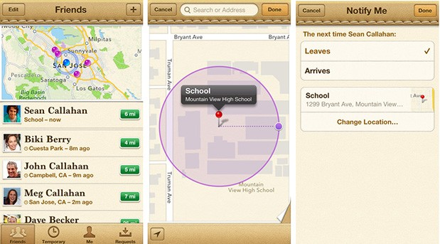 Apple's Find My Friends app updated with more indepth