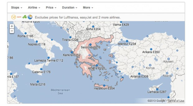 Google Flight Search reaches France. Italy. the Netherlands. Spain and the UK