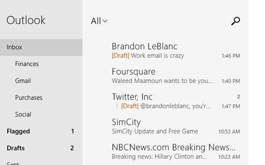 Microsoft updates Mail, Calendar and People apps in Windows 8, Windows RT
