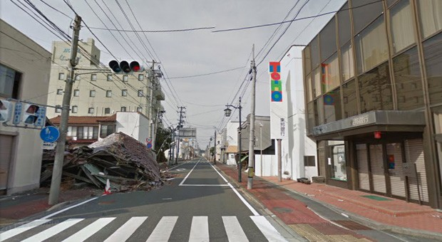 Google Street View lets displaced Japanese glimpse the town they left in 2011
