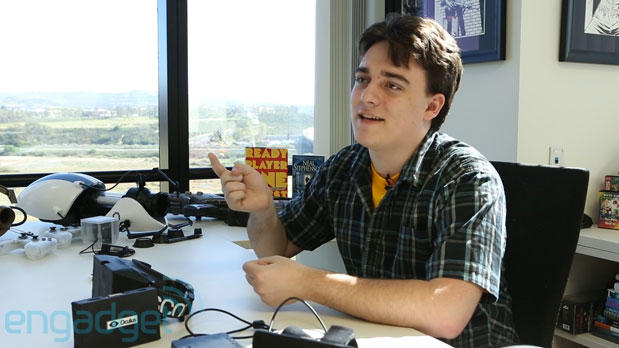 Oculus' Palmer Luckey on the Motorola StarTAC, functional interfaces and living in the meatspace