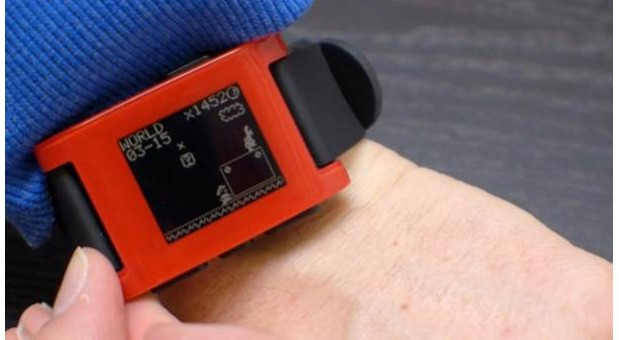 Pebble smartwatch gets a Mario watch face with new SDK, because why not