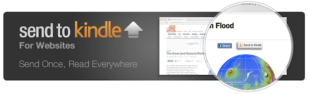 DNP Amazon lets web publishers and WordPress bloggers add Send to Kindle buttons to their sites