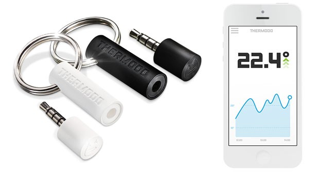 DNP Thermodo brings a mercuryfree way to measure air temperature on your smartphone