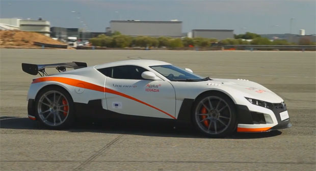 Volare EV racer goes for a test drive, hopes to turn heads