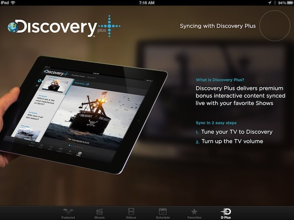 Discovery, TLC apps for iPad add 'Plus' second screen experience
