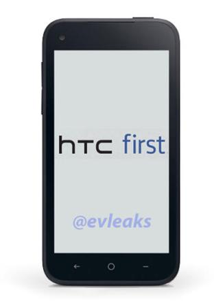 HTC First pictured ahead of Thursday's Facebook event