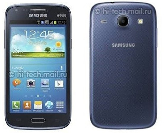 Rumored lowspec Samsung Galaxy Core smartphone has 43inch display, vague hints of GS4 styling