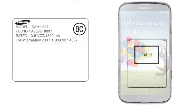 Samsung SGHi337 hits FCC with AT&T LTE bands, unlikely it's not the GS 4