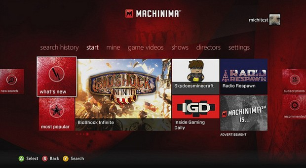 Machinima launches for Xbox 360, has us watching more games than we play