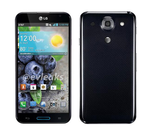 LG Optimus G Pro for AT&T detailed