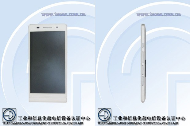 Unknown Huawei P6-U06 smartphone shows off 6.2mm profile in Chinese certification