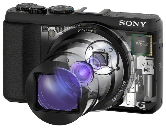DNP Sony shrinks the superzoom with 30x lensequipped Cybershot HX50V