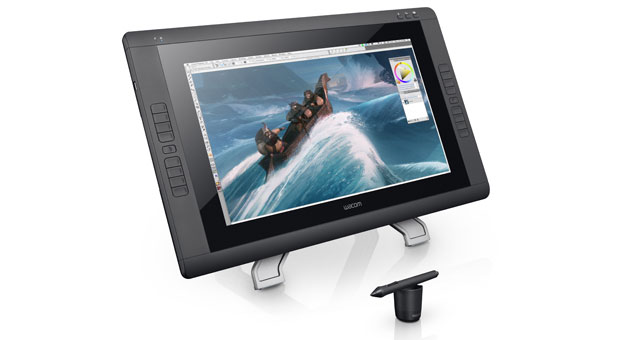 Wacom outfits its Cintiq 22HD pen display with mulitouch