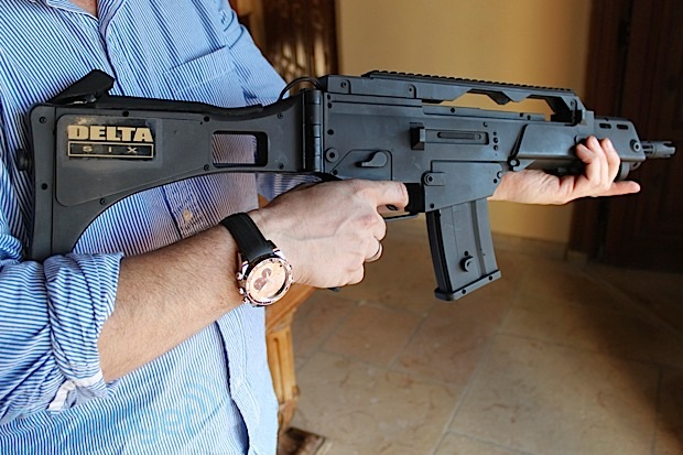 Hands-on with the Delta Six gun controller (video)