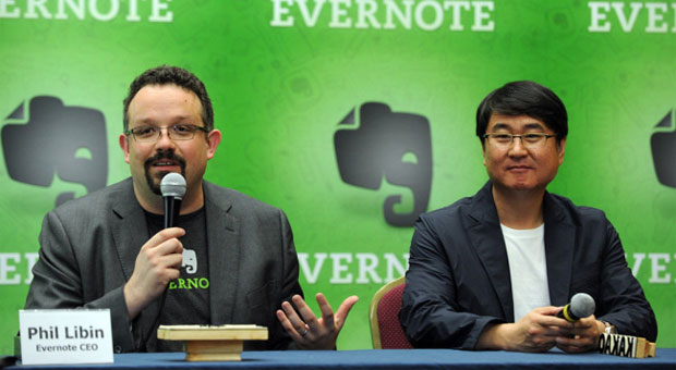 'Typically introverted' Evernote pairs with messaging app Kakao Talk and its 90 million users