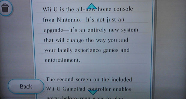 Nintendo to Wii owners the Wii U is an entirely new system, really!