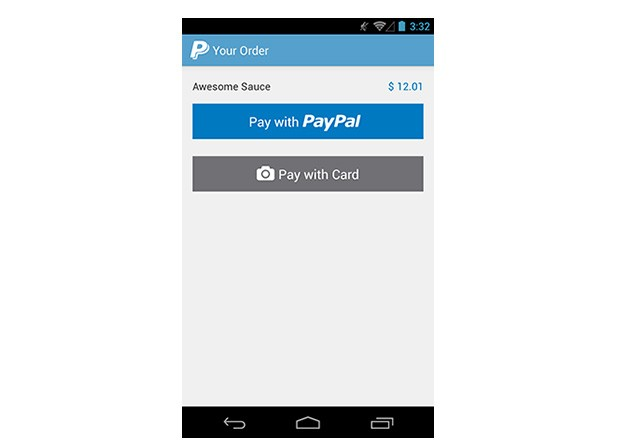 PayPal's new Android SDK offers multiple inapp payment options