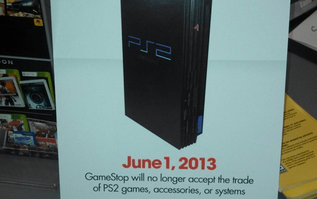 GameStop no longer accepting PS2 tradeins as of June 1