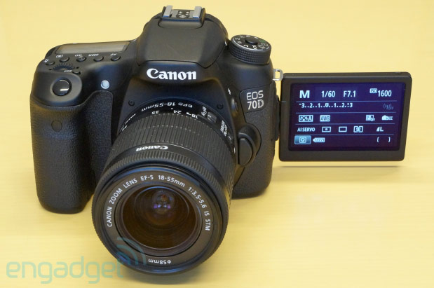 Canon reinvents video focusing with the fiercely fast EOS 70D handson