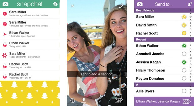 Snapchat 5 for iOS