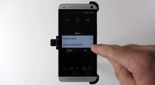 MoDaCo Switch to let HTC One owners pick Sense or Google Play UI at will video