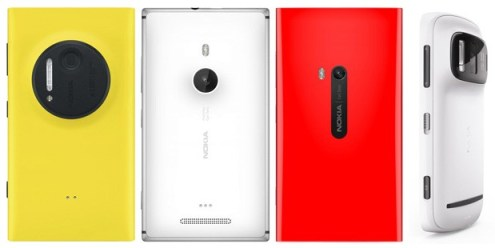 Nokia Lumia 1020 vs Lumia 925 vs Lumia 920 vs 808 PureView what's changed
