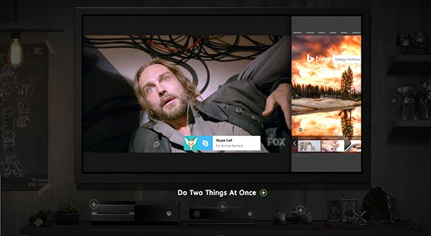 Microsoft shows off Xbox One dashboard and multitasking in new video