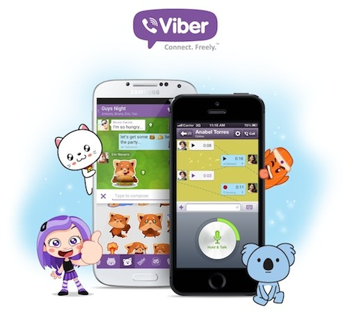 Viber brings pushtotalk features to iPhone and Android in version 40