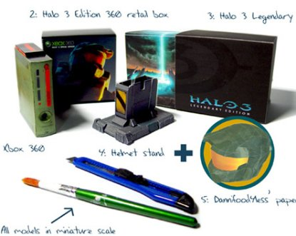 Build it yourself, a paper Halo 3 Legendary Edition