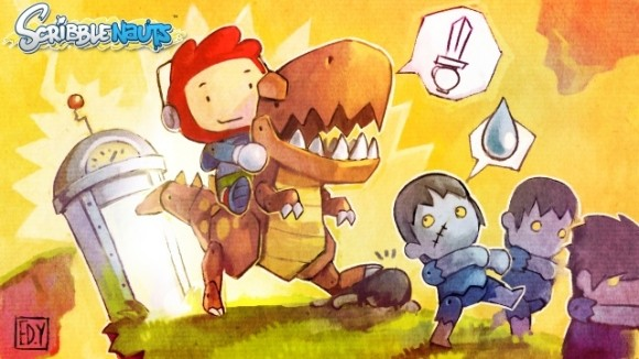 Art from the delightful Scribblenauts