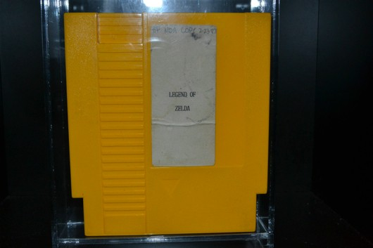 Legend of Zelda prototype cartridge