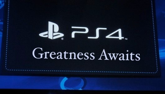 Sony PS4 Greatness Awaits Display