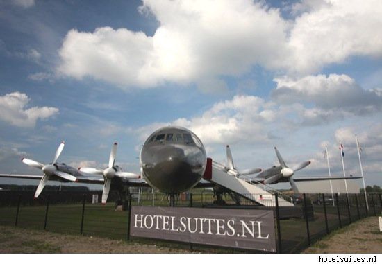 Airplane hotel suite in Netherlands