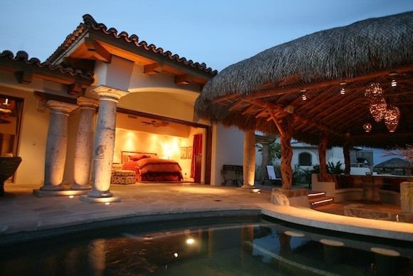Bedroom at the Lifestyle Asset Group's Cabo Residence