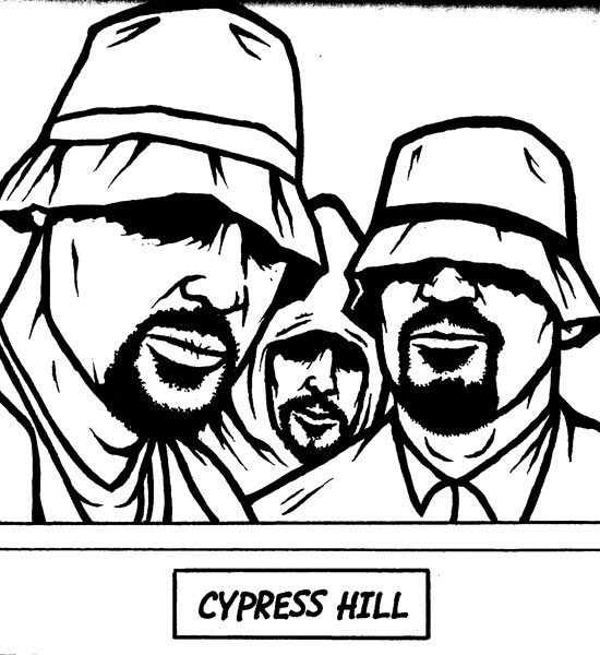 Inside the Pages of the 'Gangsta Rap Coloring Book'
