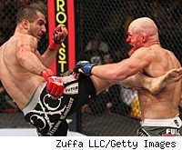 Gegard Mousasi and Keith Jardine battled to a draw at Diaz vs. Daley.