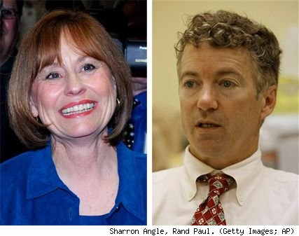 Sharron Angle, Rand Paul