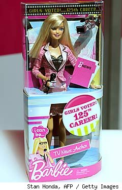 News Anchor Barbie