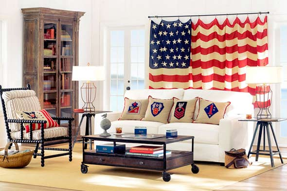 Fourth Of July How To Decorate With The United States Flag Home