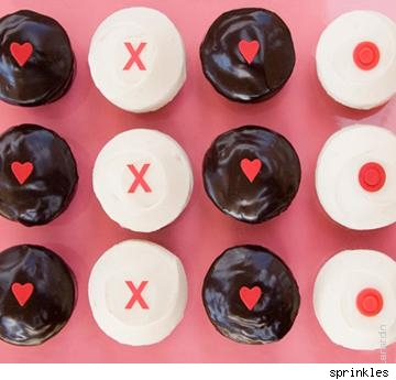 the cake girls want you to say it with cupcakes this Valentine's Day.
