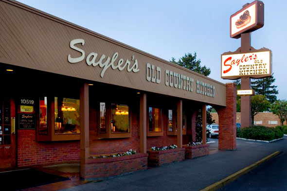 Saylers Old Country Kitchen American Restaurant Portland