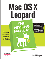 Missing Manual Leopard OS X