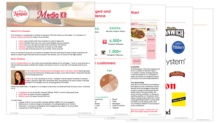 10 Inspiring Media Kits From Bloggers Blog Clarity